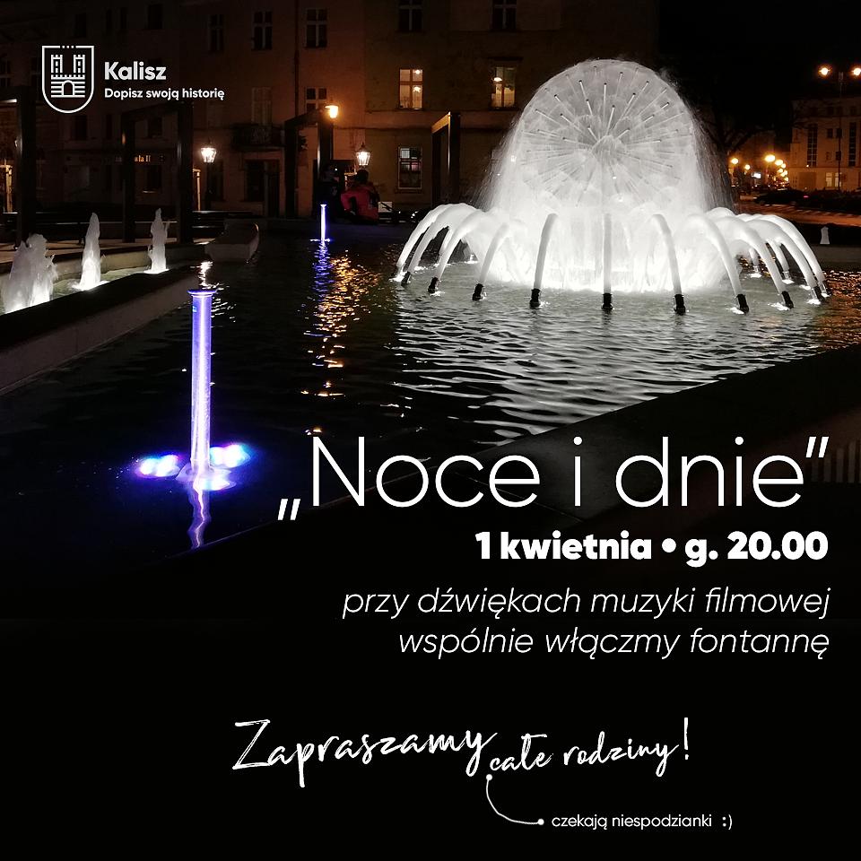 """Powitanie wiosny przy fontannie """"Noce i dnie"""". @ Plac Kilińskiego"""